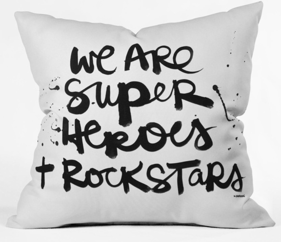 SUPERHERO.ROCKSTAR.PILLOW